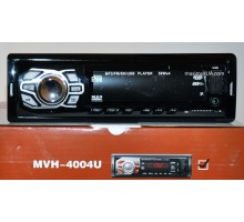 Автомагнитола Pioneer 1Din 4004U-BT с bluetooth +USB флешка, SD карта, AUX