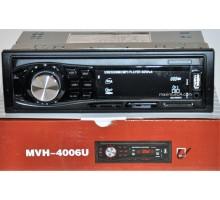Автомагнитола Pioneer 1Din 4006U-BT с bluetooth +USB флешка, SD карта, AUX