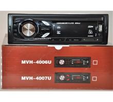 Автомагнитола Pioneer 1Din 4007U-BT с bluetooth +USB флешка, SD карта, AUX