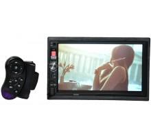 """Автомагнитола 2Din 7022CRB +USB флешка, SD карта, AUX, bluetooth, 7"""" экран"""