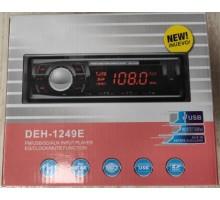 Автомагнитола DEH- 1249E BT с bluetooth +USB флешка, SD карта, AUX