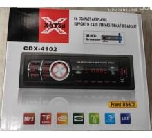 Автомагнитола CDX- 4102 +USB флешка, SD карта, AUX