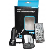 FM модулятор CMP02 c bluetooth 10 в 1