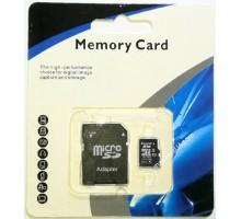 Карта памяти Memory Card 275 micro SD 8GB 10class с адаптером