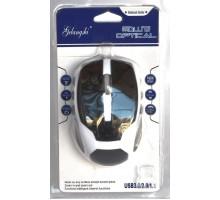 Оптическая проводная USB мышь 02