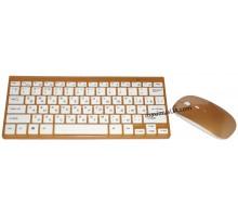 Беспроводная клавиатура с мышкой 645