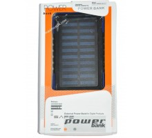 Power bank Solar 420 28000mAh, 2USB, 12LED, солн. панель