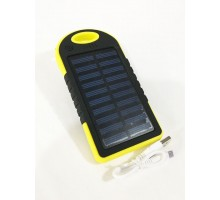Power bank Slim-Solar ES500 5000mAh, 2USB, солн. панель