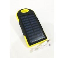 Power bank Slim-Solar ES500 5000mAh, 2USB, солн. панель