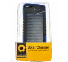 Power bank Solar 421 28000mAh, 2USB, 12LED, солн. панель