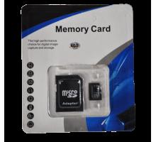 Карта памяти Memory Card 356 micro SD 4GB 10class с адаптером