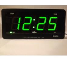 Часы сетевые настольные Caixing CX-2159