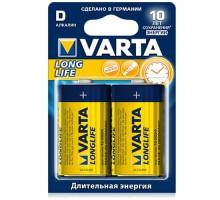 Батарейки Varta - Long Life Alkaline D LR20 1.5V 2шт
