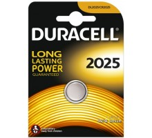 Батарейки Duracell - 2025 Lithium CR2025 DL2025 Li-Ion 3V 1шт