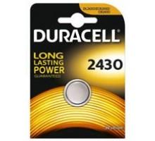 Батарейки Duracell - 2430 Lithium CR2430 DL2430 Li-Ion 3V 1шт
