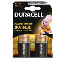 Батарейки Duracell - Basic alkaline MN1400 C LR14 1.5V 2шт