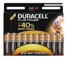 Батарейки Duracell - Basic alkaline MN1500 AA LR6 1.5V 20шт