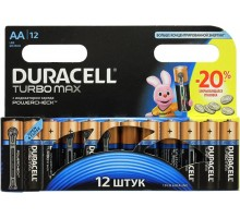 Батарейки Duracell - Turbo Max alkaline MX1500 AA LR6 1.5V 12шт