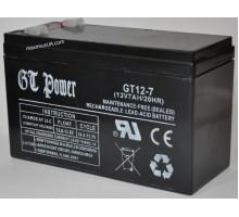 Аккумулятор GT12-7 12V 7A 20HR