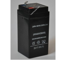 Аккумулятор 4V 4A 20HR