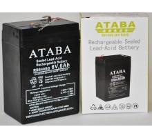 Аккумулятор ATABA BH640 6V 6A 20HR