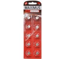 Батарейка Maximus AG3 LR41 1,5V алкалиновая, 10шт.
