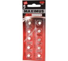 Батарейка Maximus AG4 LR66 1,5V алкалиновая, 10шт.