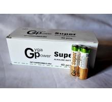 Батарейка GP Super LR6 АА 1.5V алкалиновая, 40шт.