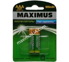 Аккумулятор NiMh Maximus HR03 AAA 1.2V 900mAh, блистер
