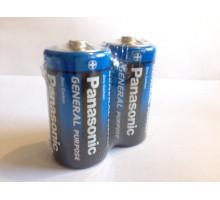 Батарейка Panasonic С R14 1.5V солевая, 24шт.