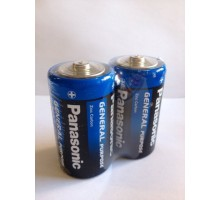 Батарейка Panasonic D R20 1.5V солевая, 24шт.