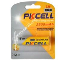 Аккумулятор Li-Ion Pikcell 18650 3.7V 2600mAh, блистер