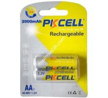Аккумулятор NiMh Pikcell HR6 AA 1.2V 2000mAh, блистер