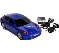 Колонка машинка Porsche Panamera AX-A2, +USB флешка, SD карта, FM приемник, AUX
