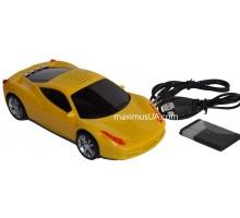 Колонка машинка Lamborghini KG-135, +USB флешка, SD карта, FM приемник, AUX
