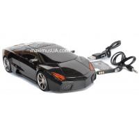 Колонка машинка Lamborghini, +USB флешка, SD карта, FM приемник, AUX