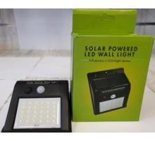 Светодиодный светильник с датчиком движением на солнечных батареях 5066-1