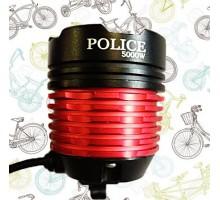 Фонарь для велосипеда Police T6, аккум.