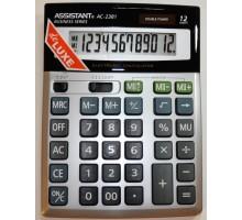 Калькулятор Assistant AC-2381, 12-разрядный, 2ное питание