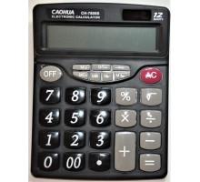 Калькулятор Caohua CH-7800B, 12-разрядный, бат.
