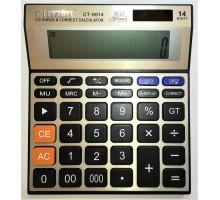 Калькулятор Citizen CT-6914, 14-разрядный, 2ное питание