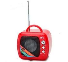 Колонка WS-575 +USB флешка, SD карта, радио, AUX