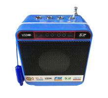 Колонка WSTER 918 +USB флешка, SD/TF карта, радио, minijack, AUX