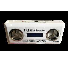 Колонка FQ 11 +USB флешка, SD карта, радио, AUX