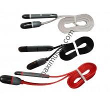 USB кабель 2 in 1 Lightning, microUSB