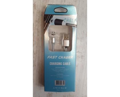 Кабель micro USB магнит