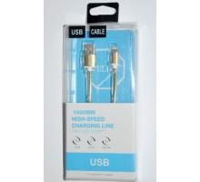 USB кабель Welike 406 Lightning 1,2м