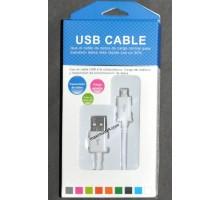 USB кабель RS6690-402 microUSB 1,2м