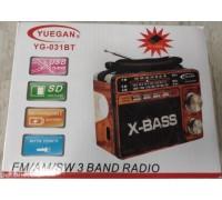 Радиоприемник YG-031 BT